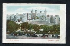 C1910 View of Horse & Carriages Outside the Tower of London.