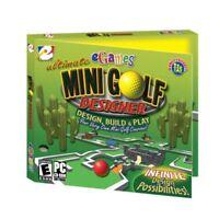 Ultimate Mini Golf Designer PC Games Windows 10 8 7 XP Computer course design