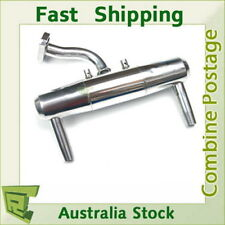 052007 1/5 Hsp double pipe Polished Exhaust