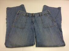 NEW YORK & COMPANY Jeans Women's Straight Leg Stretch Tag: 10 Meas: 32x30½