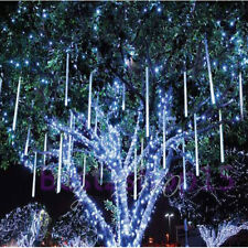30CM 8 Tube Snowfall Meteor Waterproor LED Tree Light Outdoor Xmas Wedding USA