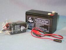 Vexilar V-120 Sportsman'S Battery & Charger 12 Volt New