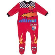 Cars Lightning McQueen Boys Infant Baby Suit Fleece Blanket Sleeper Size 12 M