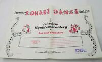 Vintage Tri Chem Hot Iron Transfers Square Dance 14  Huge pages