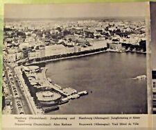 1962 Carte & Image Allemagne , partie nord Cologne théâtre de la cathédrale