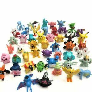 24pcs Mini Pokemon Action Figures Pockit Monster Toys Kids Presents Gifts UK