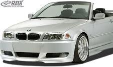 RDX Stoßstange BMW E46 Coupe & Cabrio E92 Look Front Schürze Vorne Spoiler
