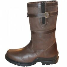 Mark Todd SHORT Waterproof 3/4 Length COUNTRY BOOT Brown Leather Sizes 37- 45