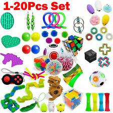 Fidget Toys Set Sensory Tools Bundle Stress Relief Hand Kids Adults Toys R3 UK