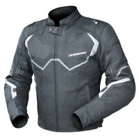 NEW Motorcycle Dririder Climate Control Pro 4 Black/White Road Jacket - 2111678_