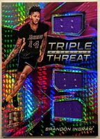 BRANDON INGRAM 2016-17 Panini Spectra Triple Threat Materials Pink /49 Rookie RC
