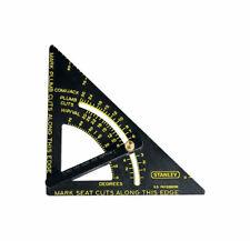 Stanley Quick Square 10-7/8 L x 6-3/4 H Alumum Adjustable Premium Layout Tool