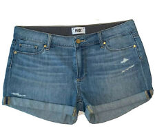Paige Size 28 Jimmy Jimmy Shorts Jean Light Wash Distressed