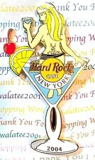 HRC Hard Rock Cafe New York Martini Girl 2004 Pin Limited Edition New # 22234