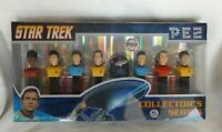 Pez Star Trek Collector's Series Set of 8 Dispensers - Kirk, Spock -  New in Box