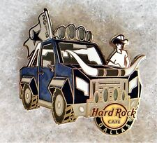 HARD ROCK CAFE DALLAS BLUE PICK UP TRUCK WITH STEER HORNS ON FRONT PIN # 99146
