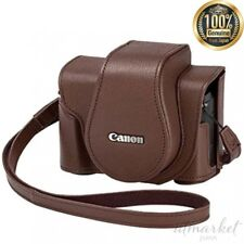 NEW Canon Soft Camera Case Brown CSC-G10BW 3055C001 genuine from JAPAN