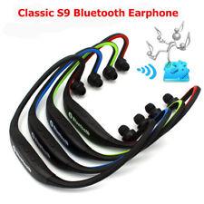 vert SPORT S9 rechargeable Tour de cou sans fil Casque Écouteur Bluetooth 4.0