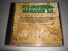 PTS-PARTITION-MANAGER 2.0 - MS-DOS Windows 9x - FAT 16/32 - Vintage/Sammler