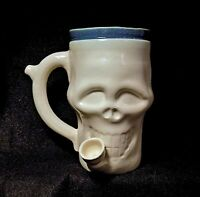 Smokey's Skull Wake and Bake Pipe mug