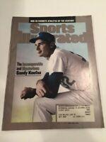 July 12, 1999 Sandy Koufax Los Angeles L.A. Dodgers Sports Illustrated Champ MVP