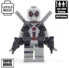 LEYILE BRICK Custom GRAY Deadpool Lego minifigure