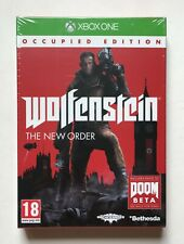 Wolfenstein The New Order Occupied Edition Xbox One Factory Sealed Very Rare