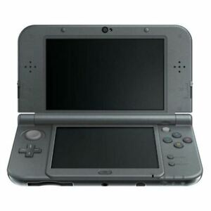 Authentic Refurbished New Nintendo 3DS XL (Black) w/Charger