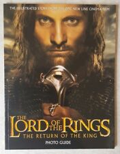 Lord of the Rings The Return of the King Photo Companion Softcover Book