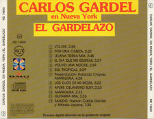 "CARLOS GARDEL ""EN NUEVA YORK / EL GARDELAZO"" RARE SPANISH EARLY CD / NO BARCODE"