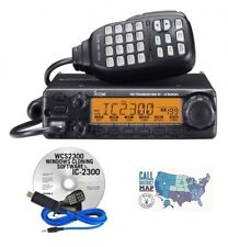 Icom IC-2300H 65W 2M VHF Mobile Radio with RT Systems Programming Kit