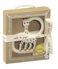 Teether-Vulli Sophie La Girafe Pure Teething Ring In A Gift Box-Baby Shower Gift