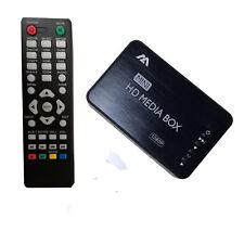 Mini Full 1080p HD Media Player Box with HDMI/VGA/AV/USB/SD/MMC/Optical output
