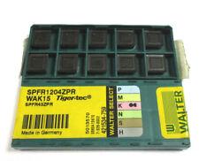 10 Wendeplatten inserts SPFR 1204ZPR WAK15 von Walter Neu H17823