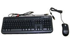 Microsoft Desktop 400 Business USB Tastatur +  Maus Set schwarz Computer PC