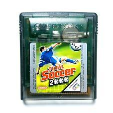 Total Soccer 2000 Spiel Modul Nintendo GameBoy Color Fussball