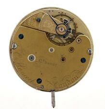 J C HANCOCK LONDON ENGLISH GOING BARREL POCKET WATCH MOVEMENT SPARES VV73