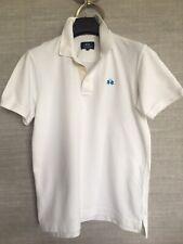 LA MARTINA Men's White Polo Shirt Size S Little Worn VGC