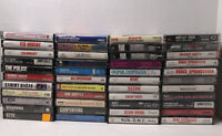 Lot 44 Music Cassette Tapes Various Artists And Genres Untested As-Is