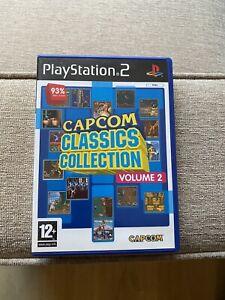 Capcom Classics Collection Volume 2 - PlayStation 2 PS2 - PAL