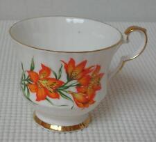 REPLACEMENT TEA CUP (s) KS Royal Windsor PRAIRIE LILY China Saskatchewan Emblem