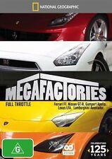 Megafactories - Full Throttle (DVD, 2-Disc Set)  Region 4 - New and Sealed