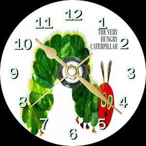 The Very Hungry Caterpillar Novelty Cd Clock Can Personalised