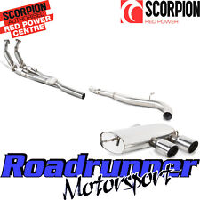 Scorpion Golf R32 MK5 Exhaust Sports Cats Downpipes & Cat Back System Non Res