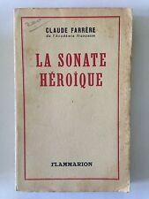 LA SONATE TRAGIQUE 1947 CLAUDE FARRERE