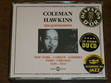 COLEMAN HAWKINS The quintessence 1926-1944 2CD