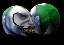 Joker Motorcycle Helmet Cover AND Visor Sticker Decal Batman Clown Street  Bike
