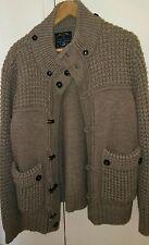 Cardigan Maglione invernale Malagrida lana merinos taglia XL