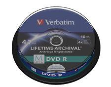 Verbatim 43824 M-disc DVD R 4x 4.7gb Inkjet