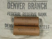 ONE UNSEARCHED - Washington Silver Quarter Roll 40 Quarters - 1932 1964 P D S